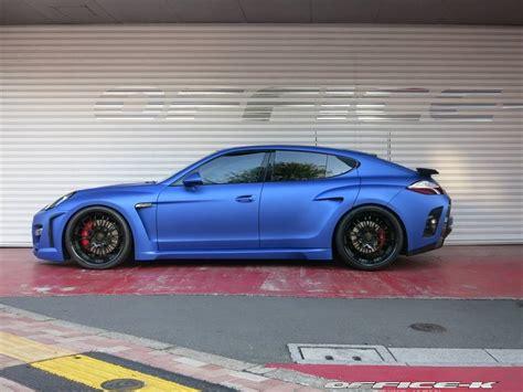 porsche panamera 2015 blue fab design panamera in matte blue by office k autoevolution