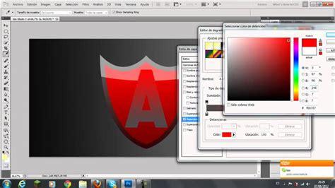 tutorial photoshop cs5 como hacer un logo tutorial como crear un escudo o logo para tu clan o avatar