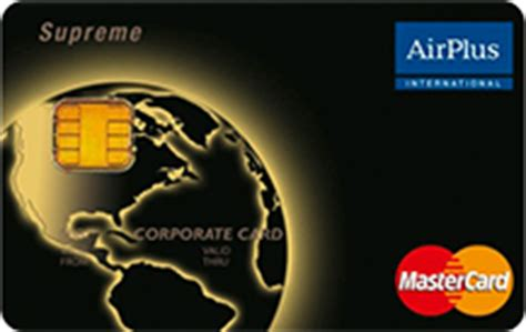 airplus kreditkarte airplus surpreme corporate card im test