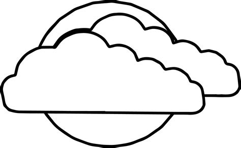 cloud coloring page coloring page rainbow clouds