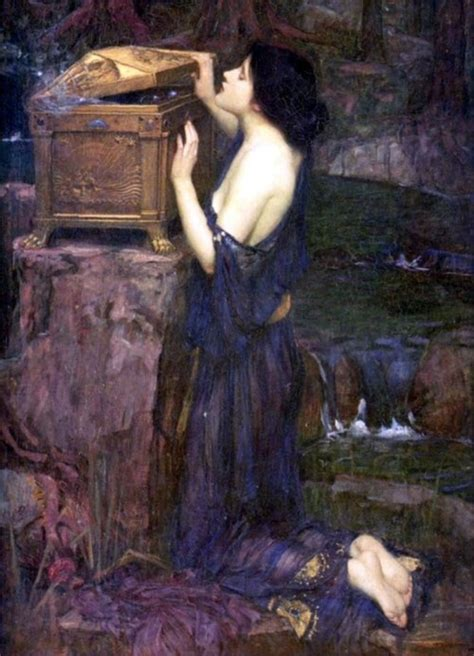 by john william waterhouse pandora s box john william waterhouse john william
