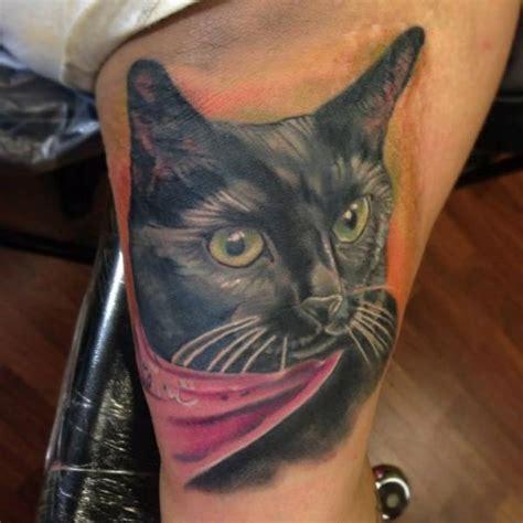 tattoo cat realistic realistic cat tattoo by bearcat tattoo