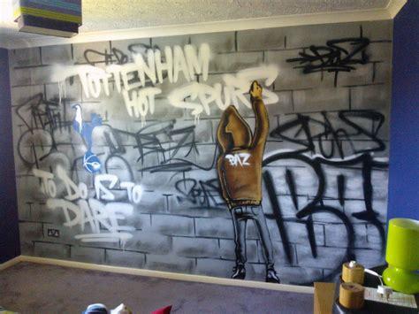 tween schlafzimmer themen children bedroom graffiti mural