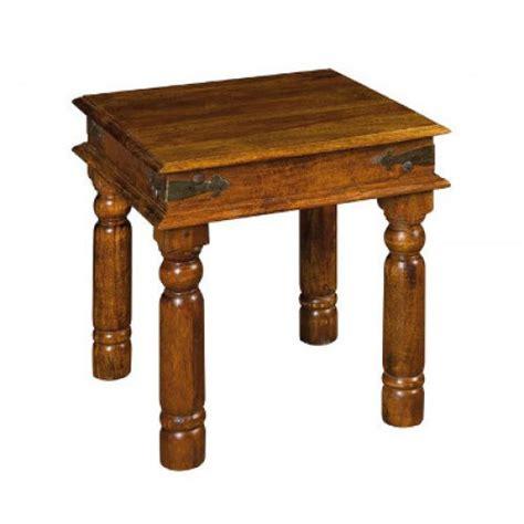 tavolo etnico tavolino etnico legno 45x45 tavolini salotto etnici