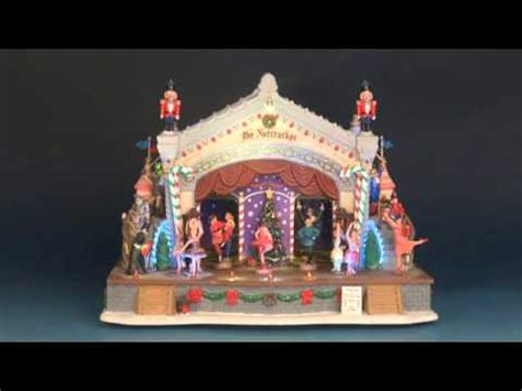 lemax nutcracker suite youtube