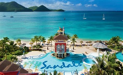 st lucia all inclusive sandals sandals grande st lucian spa resort all