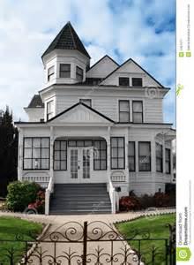 Queen Anne Victorian Homes belle maison victorienne photographie stock libre de