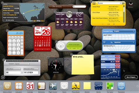 If Apple launches widgets in iOS, I hope it looks like