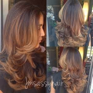 layered highlighted hair styles gorgeous trendy layered hairstyles for long hair jere