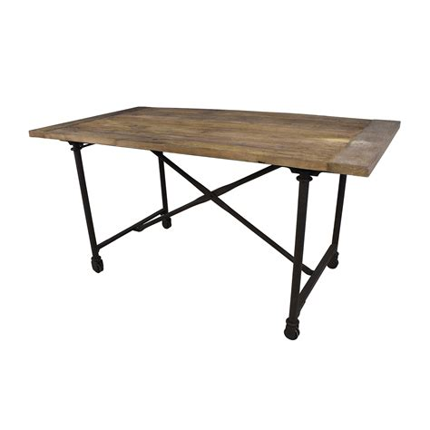 used restoration hardware dining table dining table used