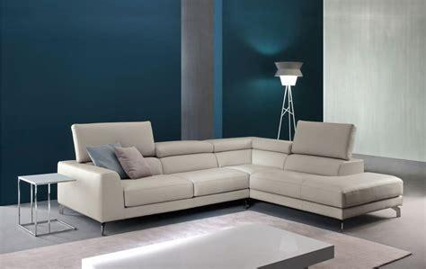 divani e salotti moderni divano in pelle con meccanismo relax per salotti moderni