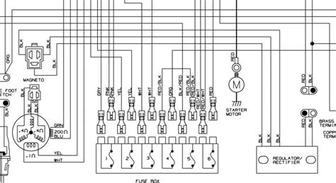 motor regulator rectifier kawasaki wiring diagram motor