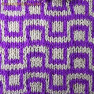 knitting with 2 colours how to knit a pattern with two colors checkbox