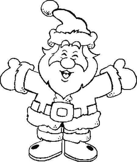 dibujos de navidad para colorear de santa claus dibujos para colorear de papa noel santa claus viejito