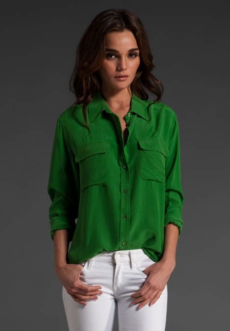 Sharhorn Green Blouse 960 best images about s style on ralph peace sign necklace and rolex
