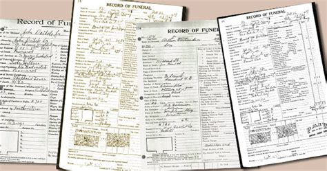 Home Records Using Funeral Home Records For Genealogy