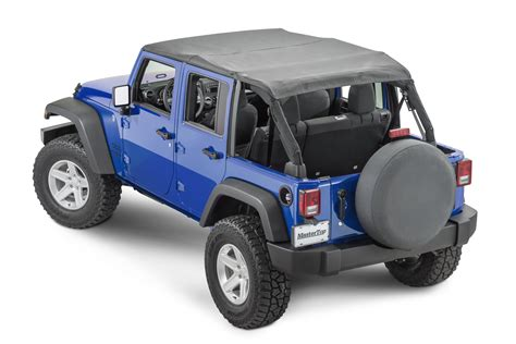 jeep top mastertop 14300435 bimini top plus for 07 18 jeep wrangler
