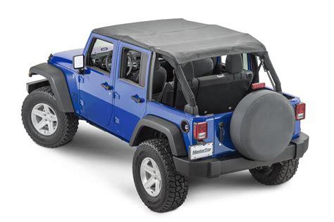 jeep top mastertop 14300435 bimini top plus for 07 18 jeep wrangler