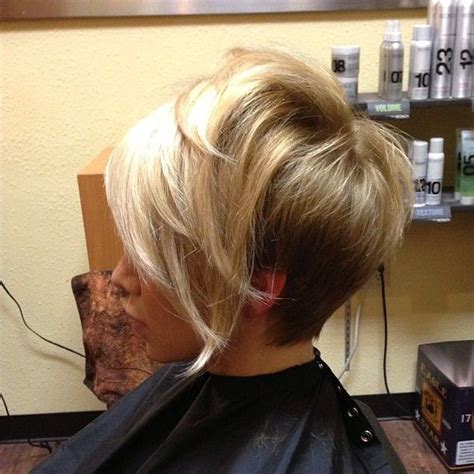 longer in the front and shorter in the back medium layered hairstyles short hairstyles long in the front
