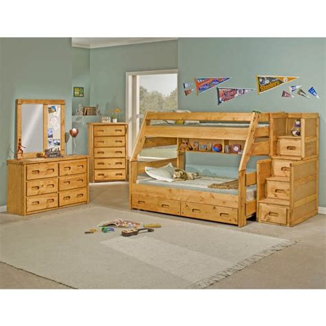Bunkhouse Bunk Beds Bunkhouse Bunk Bed Bernie Phyl S Furniture By Trendwood Furniture