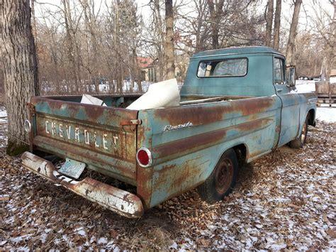 1958 chevrolet apache 32 fleetside bed truck