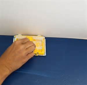how to paint a line between wall and ceiling my