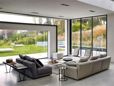 giardini interni casa stile minimal immerso nel verde