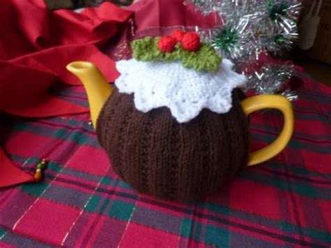pattern for christmas pudding tea cosy yellow pink and sparkly christmas is coming