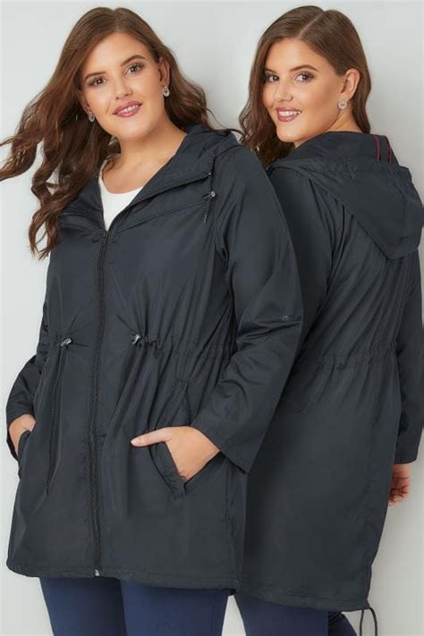 Supplier Pocket Parka By Adieva navy pocket parka jacket with plus size 16 to 36