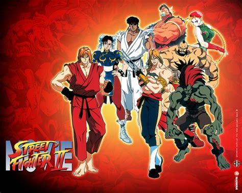 street fighter 1994 imdb hd wallpapers street fighter ii the animated movie review