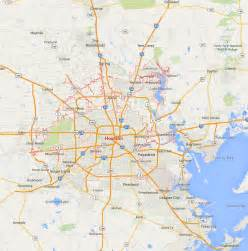 Texas Usa Map by Houston Texas Map