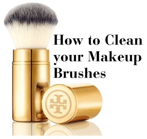 best of how to clean your makeup brushes at home