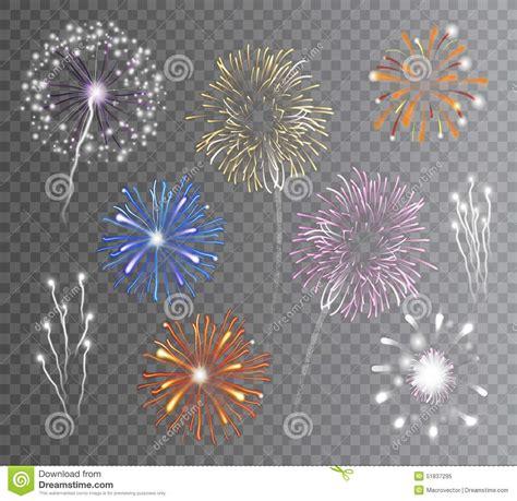 clipart fuochi d artificio i fuochi d artificio hanno messo trasparente illustrazione