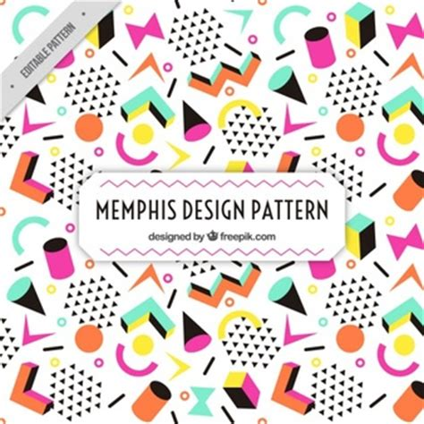 memphis pattern ai cylindrical vectors photos and psd files free download