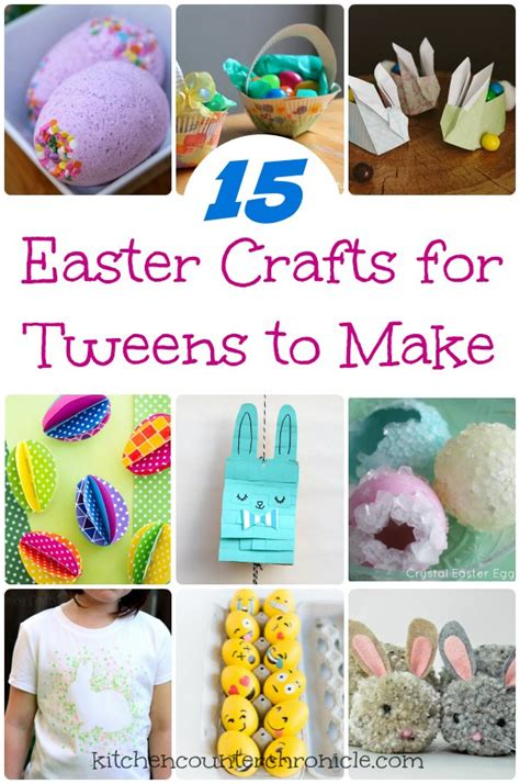 15 Awesome Easter Crafts for Tweens to Make