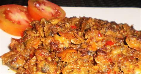 Kerang Kering resep kerang masak pedas resep masakan info kuliner tips