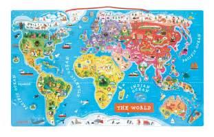 Sylvanian Families Garden - janod world map puzzle entropy