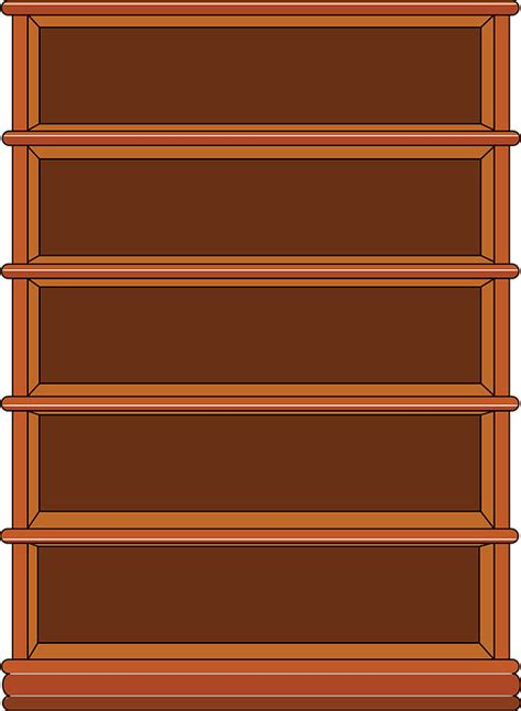 bookshelf images cartoon empty bookshelf www pixshark com images