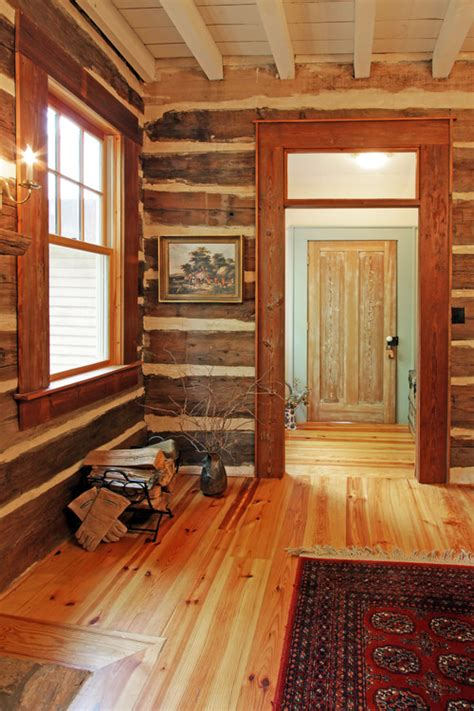 Wall Log Cabin by Log Cabin Dining Room 183 More Info