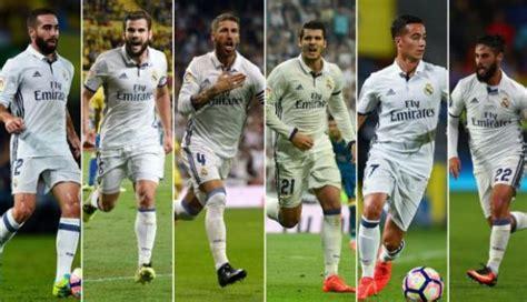 fotos del real madrid jugadores real madrid seis jugadores convocados para selecci 243 n