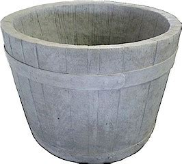 Small Whiskey Barrel Planter by Planters Antique Your Planter Fountains Colored Concrete Planters