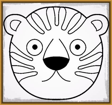 imagenes de tigres faciles para dibujar dibujos de tigre blanco para dibujar archivos imagenes