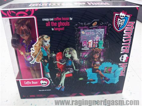 monster high coffin doll house monster high dolls coffee house coffin bean playset 01 flickr photo sharing
