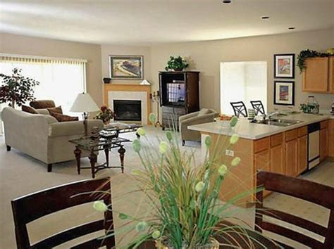 Kitchen Living Room Ideas Living Room 100 Surprising Open Kitchen Dining Living Room Floor Circle