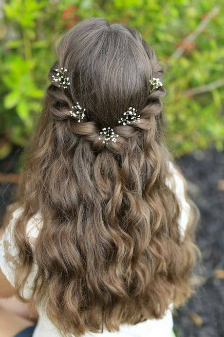 Frisuren Für Eine Hochzeit Als Gast by Kommunion Frisuren F 252 R Lange Haare