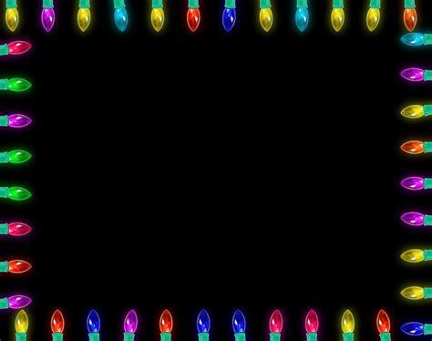 picnik christmas lights frame template flickr photo