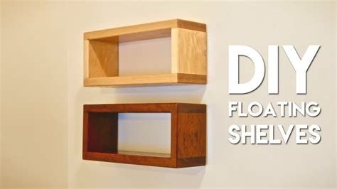 build diy floating shelf  invisible hardware