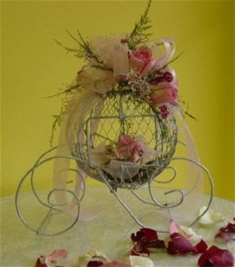 Weddings By Sher Cinderella Carriage Centerpiece Cinderella Carriage Centerpiece Themed Centerpieces