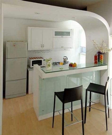Kursi Mini Bar Dapur gambar interior desain dapur mungil mini bar modern zonabuzz