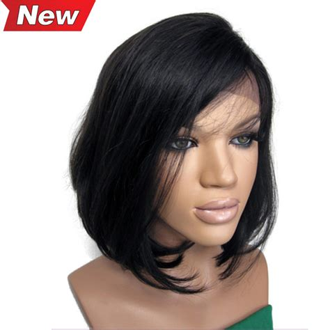 bob wigs human hair black women aliexpress com buy natural straight human hair bob wigs